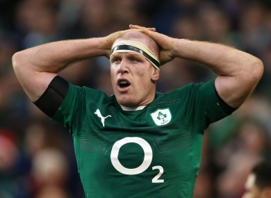 O'Connell started two games for Ireland in November.