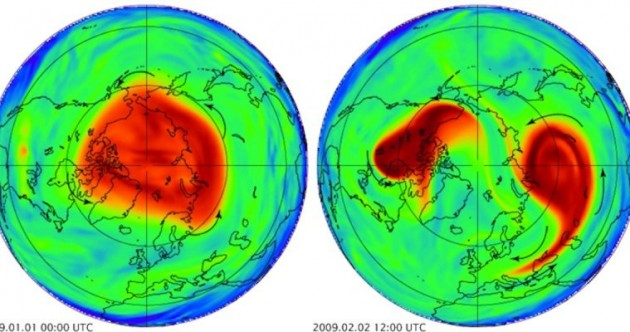 What is the 'polar vortex' sweeping across the US, and how did it form?