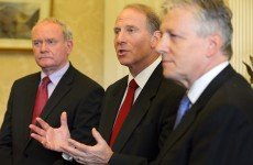 """Richard Haass didn't fail, the political parties failed."" – North First Minister"