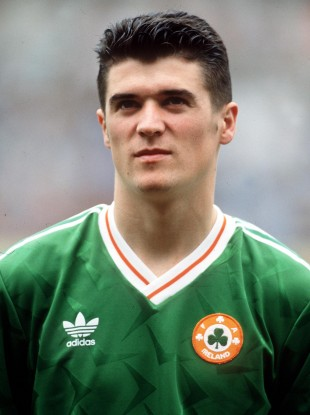 Keane during his early Ireland days.