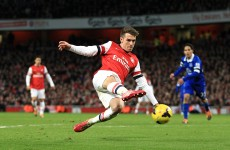 Ramsey injury setback a further blow to Arsenal title challenge