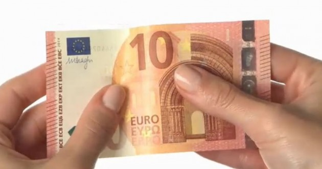 Your 'firm and flexible' friend: The new €10 banknote has arrived