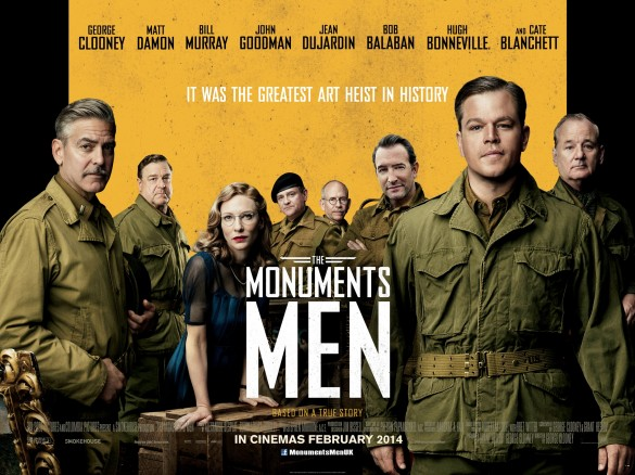 The-Monuments-Men-UK-Quad-Poster-585x438