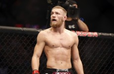 VIDEO: Conor McGregor spars with Irish youngster