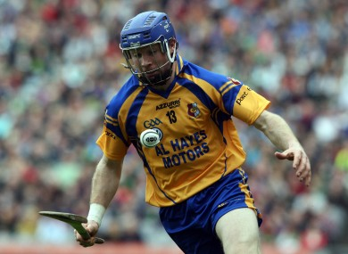 Hayes: tomorrow will be his sixth All-Ireland semi-final with Portumna.