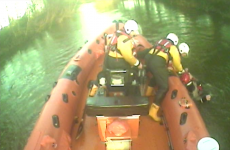 RNLI rescues semi-conscious kayaker from fast flowing river