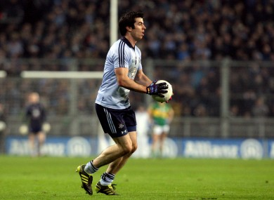 Michael Dara Macauley starts for Dublin this weekend.