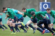 No talk of rap battles this year as Ireland prepare for battle at Twickenham