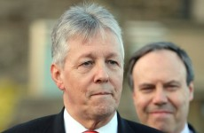 Peter Robinson accused of 'playing the hard man' after saying he won't resign