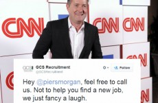 Twitter is burning Piers Morgan HARD because his show got cancelled