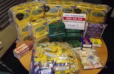 Cannabis from Canada, cigarettes from Moldova… A busy 48 hours for the customs service