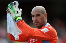 'He wrote a goodbye letter, didn't he?' Rodgers closes the door on Reina return