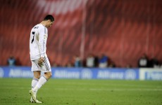 This is why Cristiano Ronaldo was sent off last night