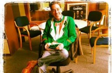Tubridy's threatening to wear this Paddy's Day jumper on the Late Late