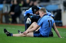 Ciaran Kilkenny set to undergo scan tomorrow after suffering knee injury