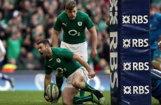 Fergus McFadden thanks Irish fans for standing ovation after replacing BOD