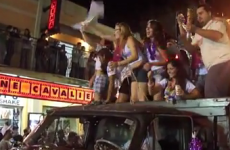 Guy completely kills the craic at Brazilian carnival with one simple move