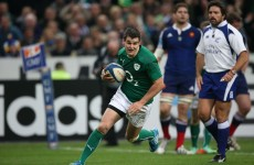Racing Métro will meet Joe Schmidt in September to discuss Sexton workload