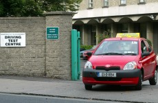 Driving tests delayed because of industrial action