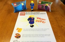 Genius jobseeker creates brilliant Lego CV