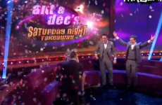 Man elaborately proposes to his girlfriend live on Saturday Night Takeaway