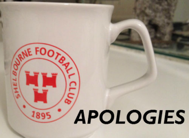 Shelbourne FC have issued an apology.