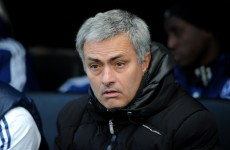 I'd rather be in City's shoes, says Mourinho