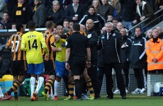 FA to probe headbutt as Pardew apologises