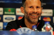 Giggs: United are never underdogs on big European nights at Old Trafford