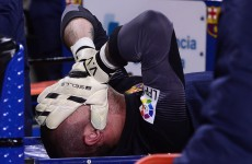 Barcelona career and World Cup dream over for Victor Valdes, club confirm