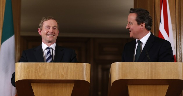 Taoiseach Enda Kenny to meet Prime Minister David Cameron in the UK