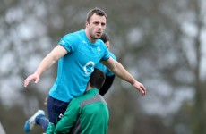 Tommy Bowe in line for France comeback as he trains with Ireland