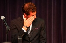 Tears for Andy Murray after receiving freedom of home town at his old school Dunblane High