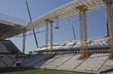 Brazil halt work on World Cup stadium after death of construction worker