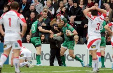 Connacht lost heavily, but this Robbie Henshaw assist is worth watching over and over again