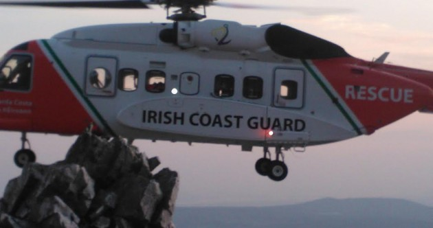 PHOTOS: Teenager airlifted to hospital after dramatic chopper rescue at top of Mount Errigal