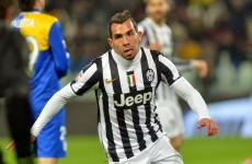Tevez strike fails to prevent Juve defeat while Sevilla trump Valencia