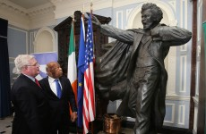 Irish welcome for civil rights leader who 'fought the scars and stains of racism all his life'