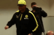 Jurgen Klopp sprints out of press conference for urgent 'call of nature'