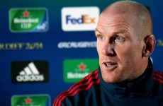 Paul O'Connell compares Toulon with All Blacks ahead of Munster semi final