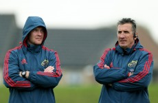 O'Mahony in buoyant mood after surgery, will help Munster's analysis team — Penney