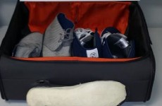 Over €100k worth of cocaine was found in these shoes at Dublin Airport…