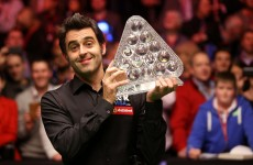 Ronnie O'Sullivan aims for three in a row at the Crucible
