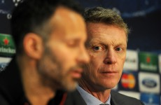 Ryan Giggs named interim manager after Man United sack Moyes