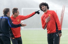 Fellaini finding his feet at United, insists Moyes