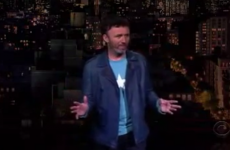 Tommy Tiernan's first ever appearance on Letterman