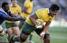 6'8″ Will Skelton scores one try, lays on another as Australia whitewash France