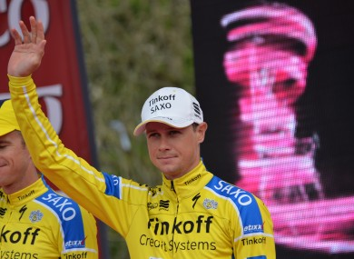 Nicolas Roche has secured the overall win at the Route du Sud (file pic).